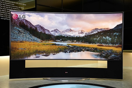 105 curved ULTRA HD TV_actual_105UC9
