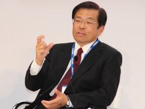 Toshikazu Koike, CEO de Brother Industries.