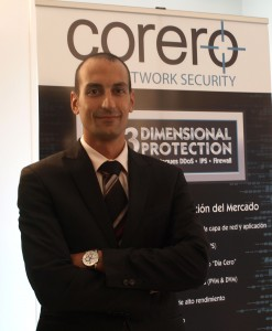 Alain Karioty - Regional Sales Manager de Corero Networks