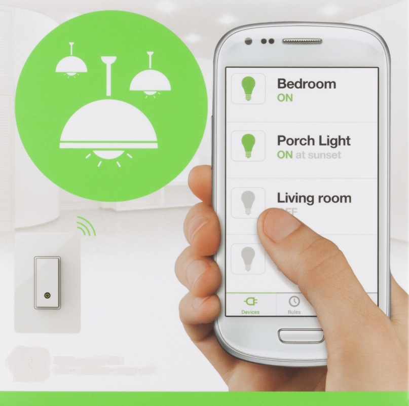 Belkin wemo light switch HR