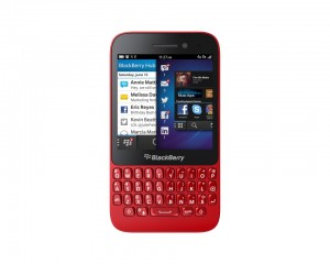 BlackBerry Q5 rojo
