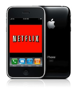 how to get the american netflix on iphone