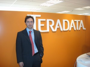 Patricio Llaona, Marketing Manager Caribbean and Latin America de Teradata.