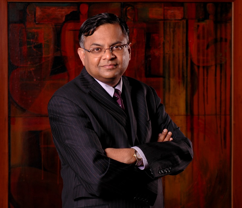TCS_CEO y Director General, N Chandrasekaran