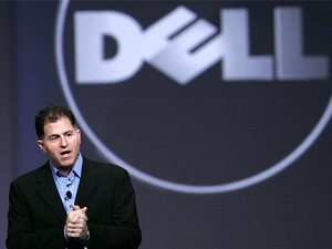 Michael Dell, fundador y CEO.