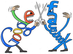 La batalla entre Google (YouTube) y Facebook sigue.