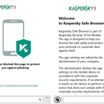 Kaspersky Lab lanza navegador seguro para Windows Phone