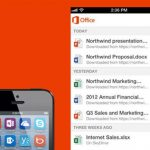 Office Mobile ya se encuentra disponible para iOS