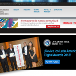 Lunes 30 de junio: Culminan postulaciones a los Latin American Digital Awards 2014