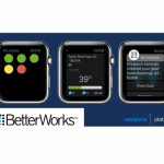 Salesforce lanza 5 apps empresariales para Apple Watch
