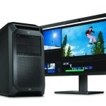Workstation HP Z8 G4 coloca la RV en su escritorio