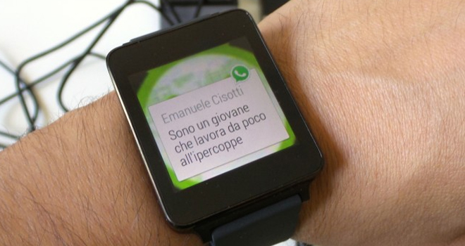 Whatsapp busca meterse en el mercado de lo wearable.